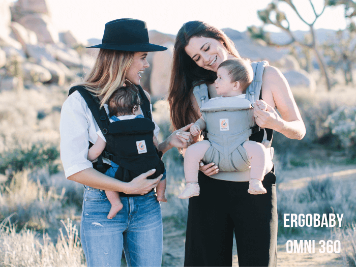 Mums and their babies using the Ergobaby Omni 360 baby carrier